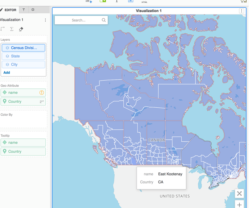 Map Of Canada With City Names.Mapbox Is Not Correctly Mapping Canadian Cities