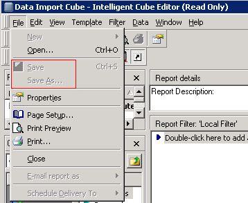 0188bd6372d KB40239  Unable to edit the Intelligent Cube which is published via ...