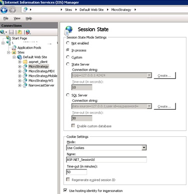 KB41860: What are the timeout settings controlled by IIS 7