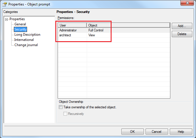 KB37201: Users having Access Control List (ACL) permissions