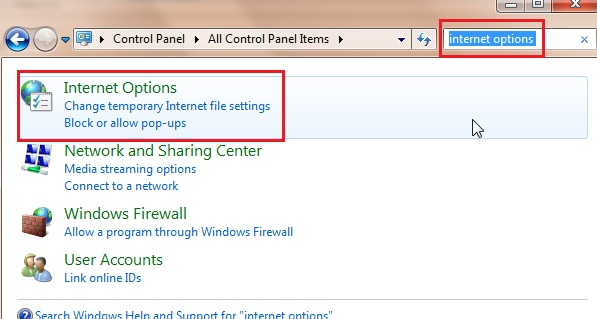 KB45900: How to configure proxy settings to activate
