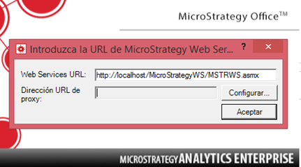 """KB439810 :The error: """"Unable to access MicroStrategy Web Services at"""