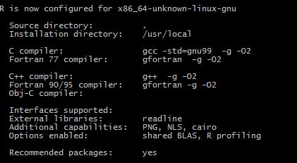 KB201798: How to install R Integration Pack on Linux in