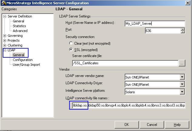 KB19023: 'An error occurred during authentication…LDAP