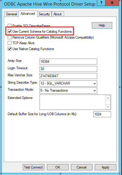 KB316725: Users are unable to filter tables belonging to a specified