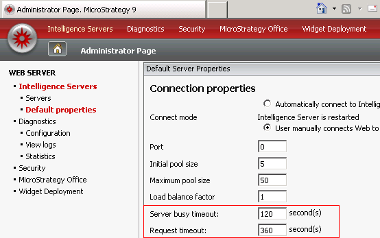 KB46608: In MicroStrategy Web 9 3 a