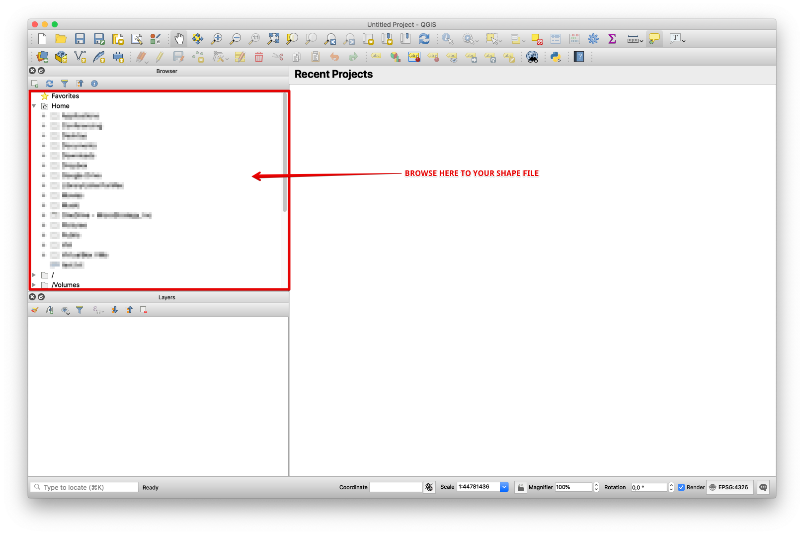 KB442340 : How to set ESRI custom shape files (* shp) to a CRS