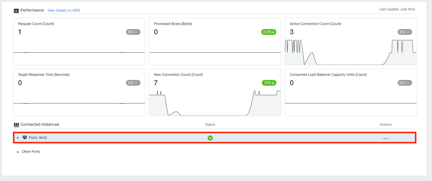 How to View Environment Load Balancer Details